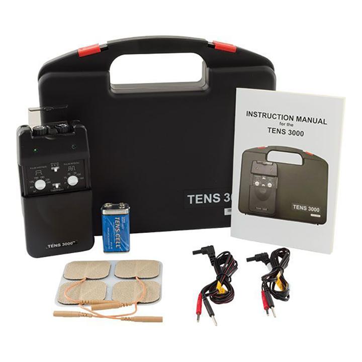 TENS 3000 3 Mode Analog TENS Unit with Timer | Michigan USA