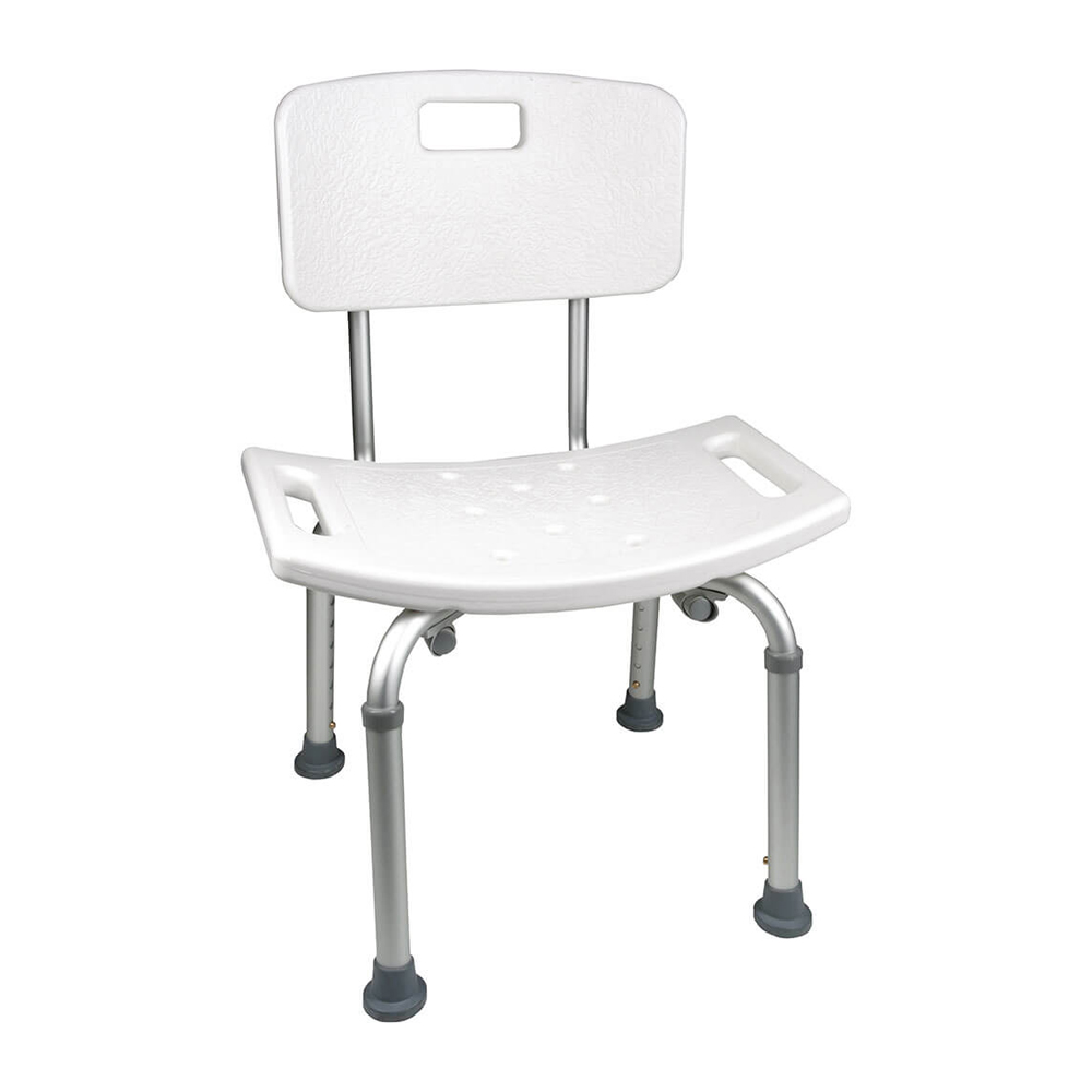 ProBasics Shower Chair with Back | Michigan USA The ProBasics Shower Chair with Back
