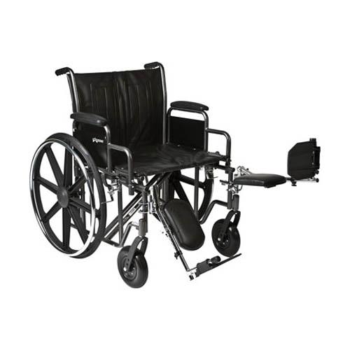 ProBasics Heavy Duty K0007 Wheelchair, 22″ x 18″