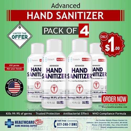 Hand Sanitizer LXR Biotech Advance Made in USA | Michigan USA