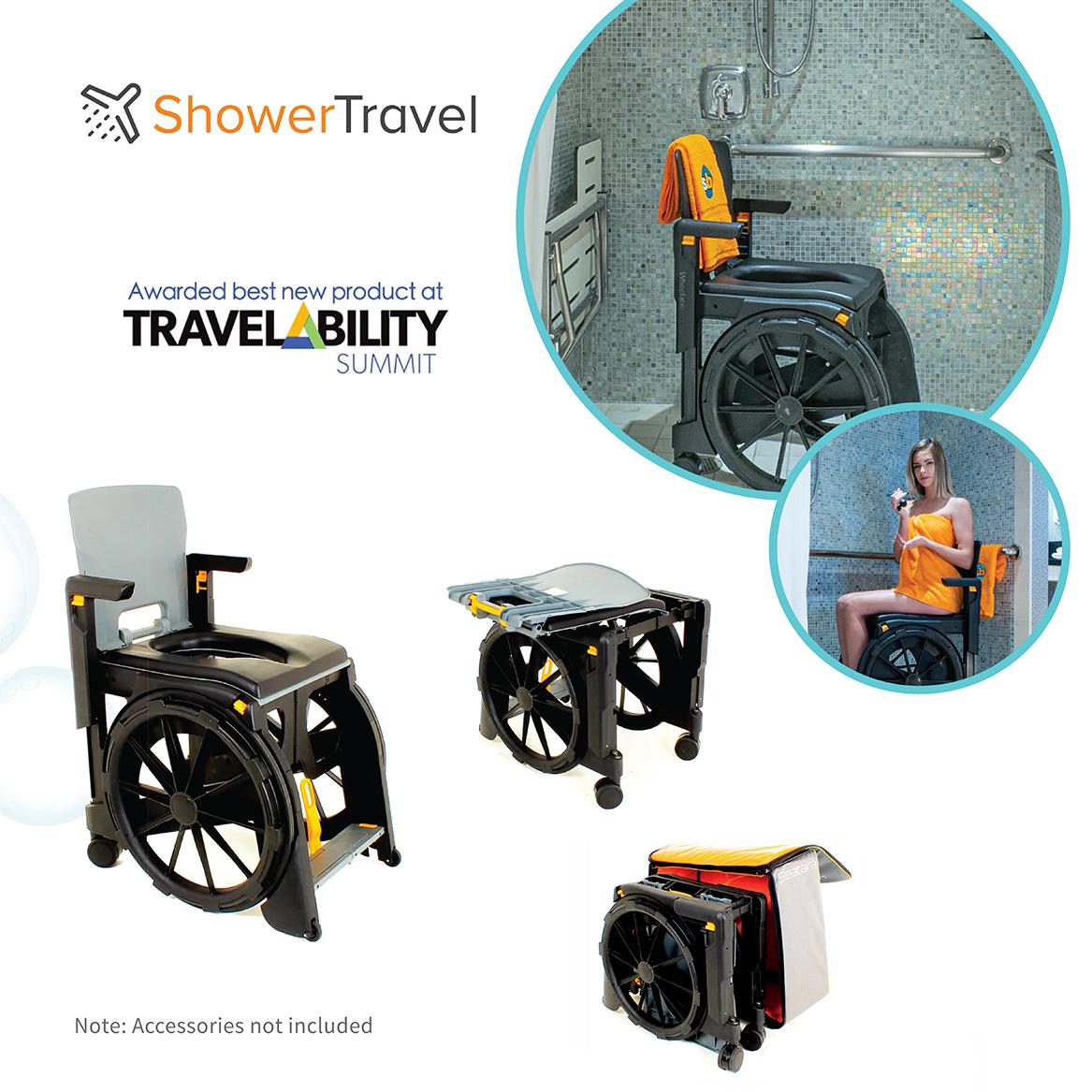Shower Travel Chair Case