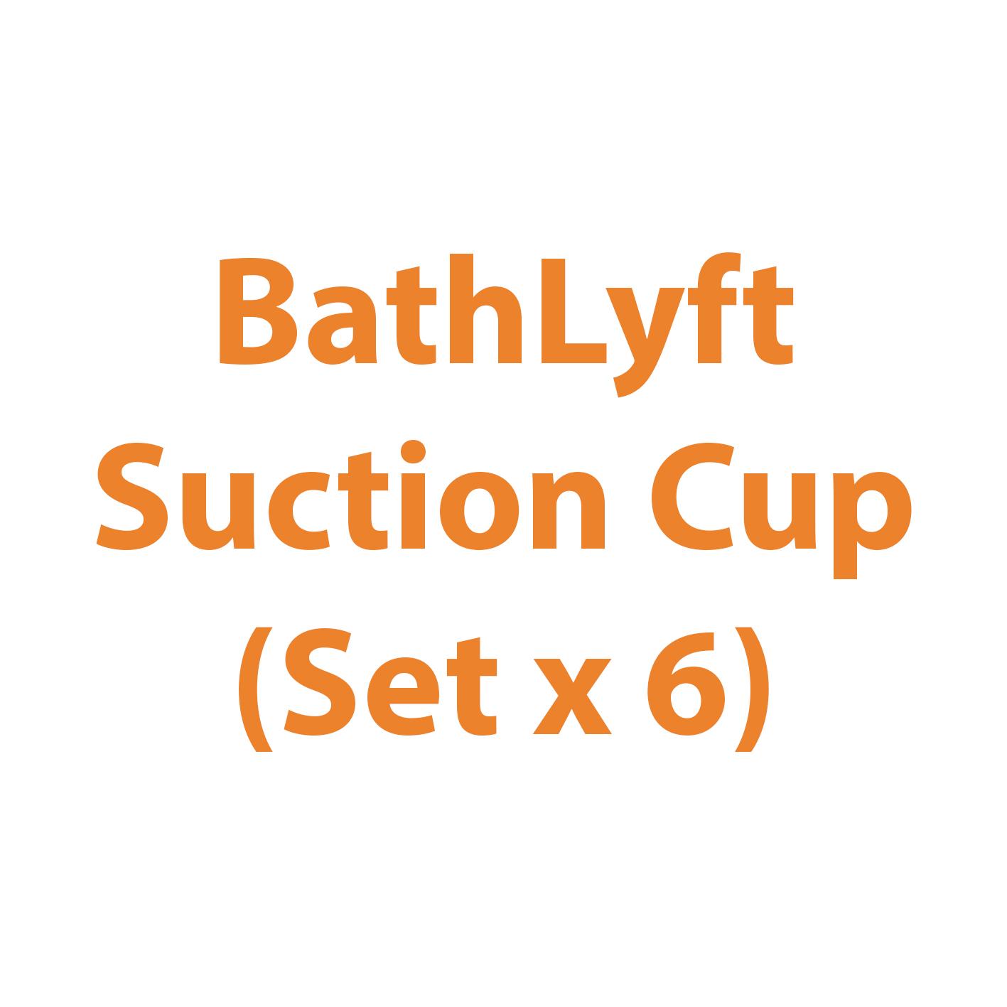 BathLyft Suction Cup (Set x 6)   Michigan USA