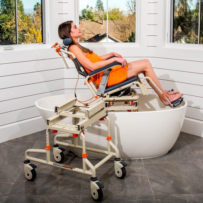 SB2T TubBuddy for your BathTub with Tilt