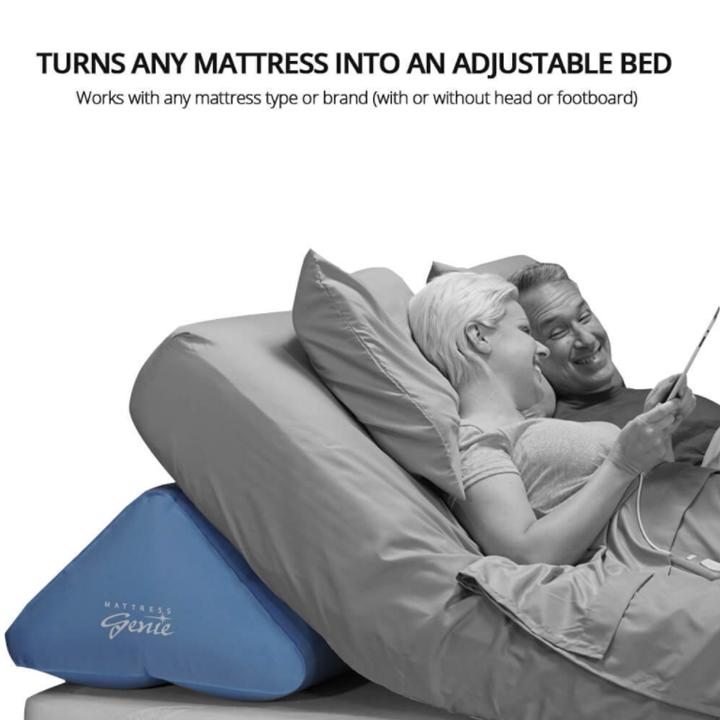 MATTRESS GENIE ADJUSTABLE BED WEDGE SYSTEM | Michigan USA