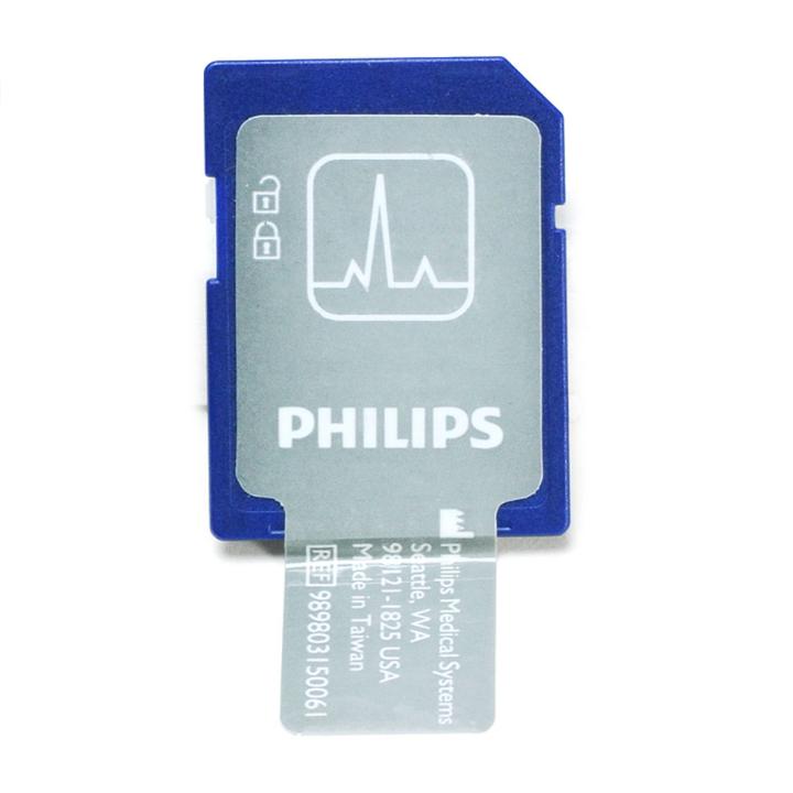 Philips HeartStart FR3 Data Card - 989803150061 in Michigan USA