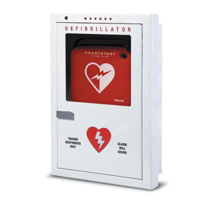 Philips AED Cabinet - Semi-Recessed Mount PFE7023D in Michigan USA