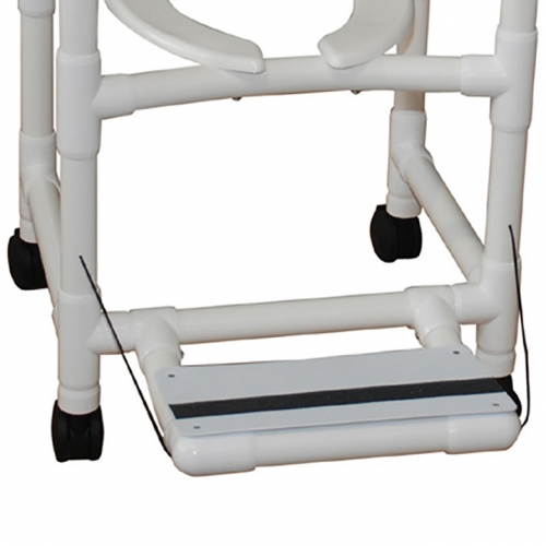 """Folding Footrest 18"""" for MJM Shower Chairs in Michigan USA"""